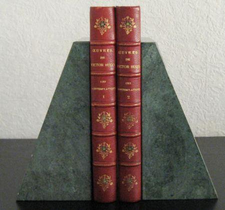 HUGO, VICTOR - Les Contemplations. Two volumes